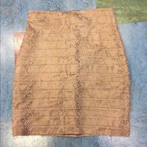 Express mini Skirt Sz 2